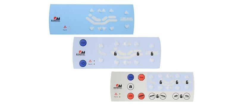 MEDITOUCH membrane keypads
