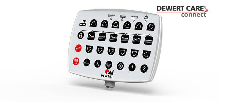 Dewert Care Connect nurse controller