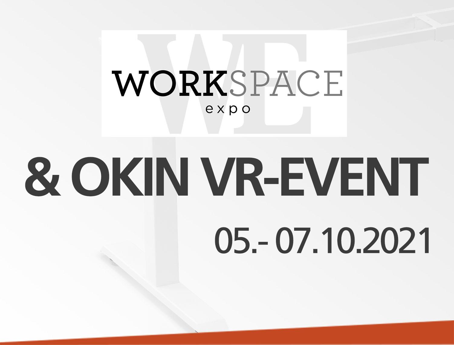 Evento híbrido: OKIN en la Workspace Expo 2021