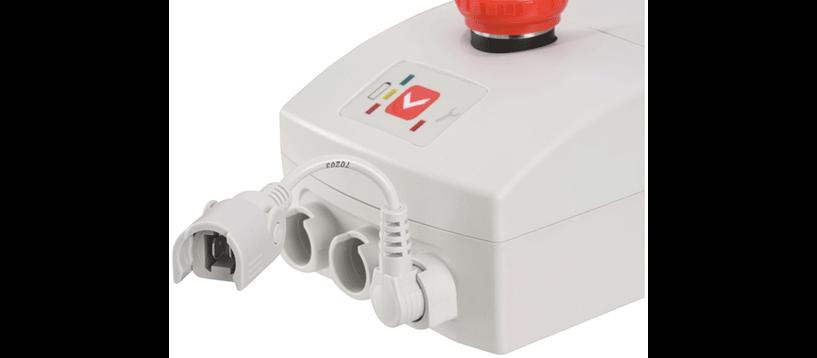 ACCUCONTROL 4.5 Raccordement pour câble de chargement