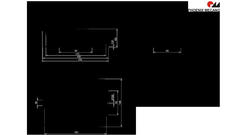 HE 300 SMPS technische Zeichnung