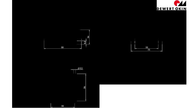 USB Charger technische Zeichnung